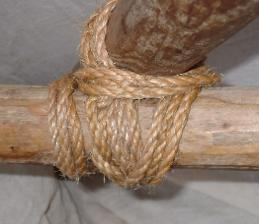 The reef kno t this is one of the most popular knots used for tying
